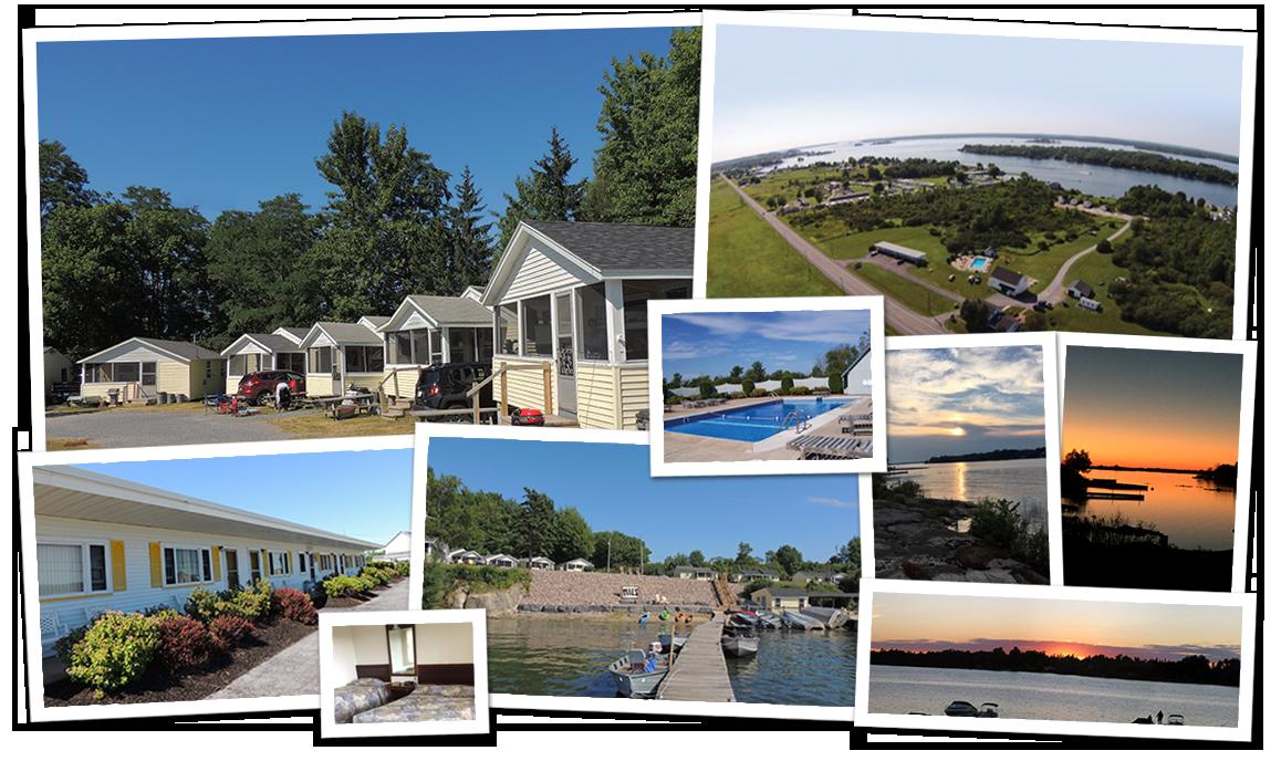 Thousand Islands - Clayton Waterfront Cottage Rentals, Mils Cottages & Motel - 1000 Islands